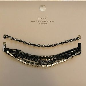 2 Piece Zara Choker & Necklace set